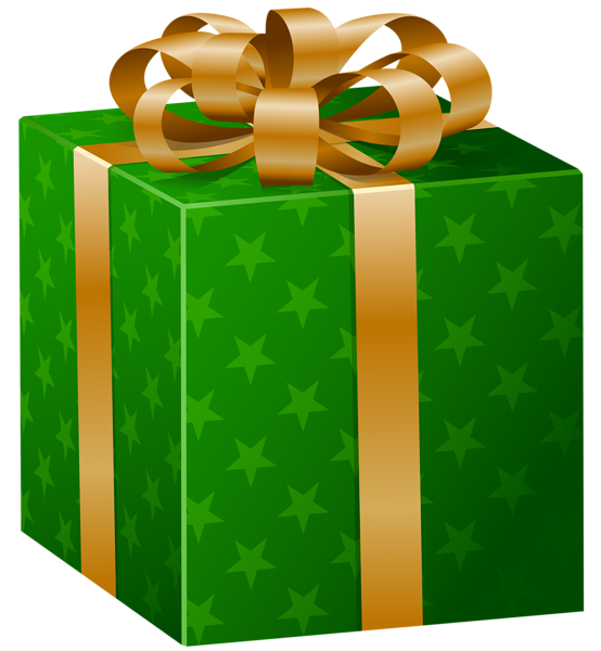 Green Gift Box Png Clip Art Image Green Gifts Amazon Gift Card Free Gifts