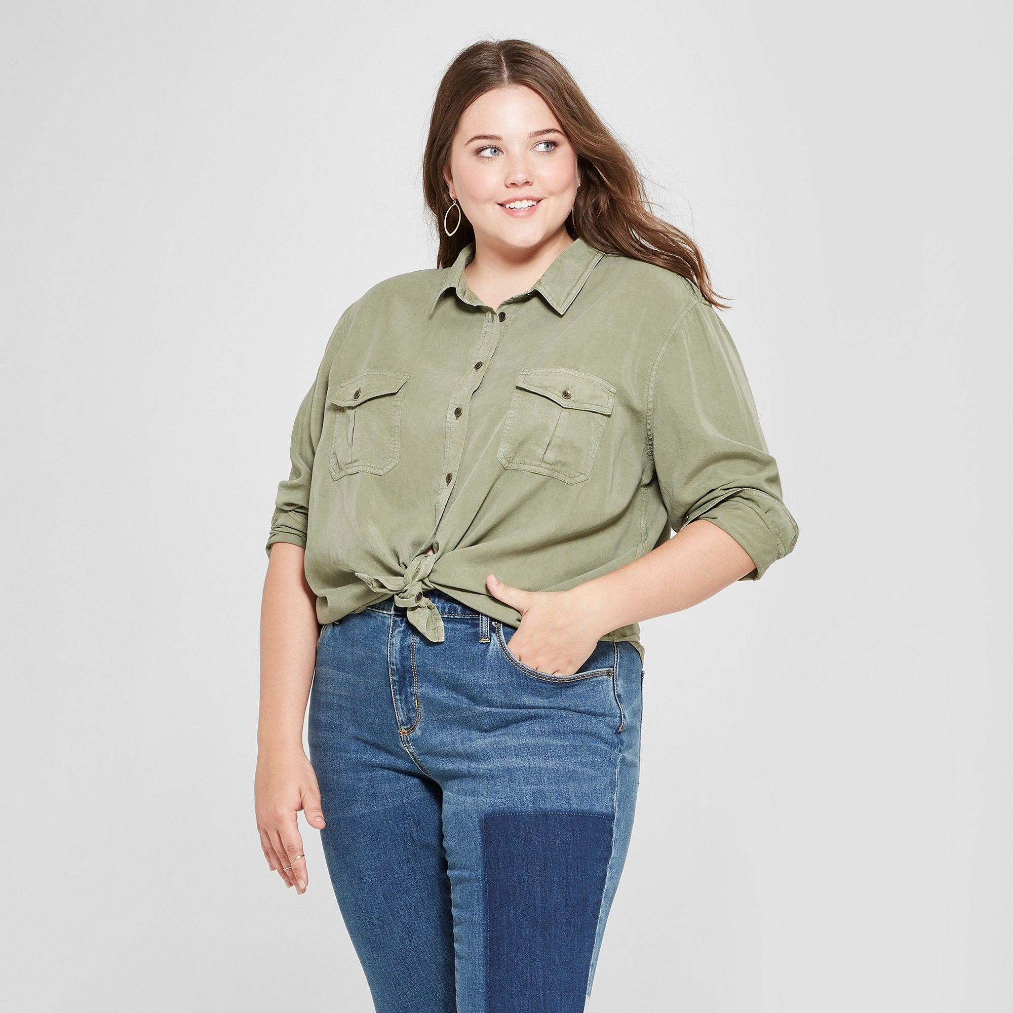 Women's Plus Size Puff Short Sleeve Mock Turtleneck T Shirt Who What Wear</p>                     </div>   <!--bof Product URL --> <!--eof Product URL --> <!--bof Quantity Discounts table --> <!--eof Quantity Discounts table --> </div>                        </dd> <dt class=