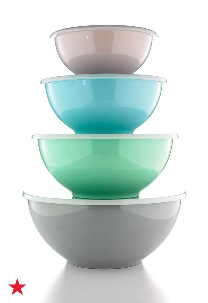 These Martha Stewart Collection pastel bowls includes a range of sizes suitable for anything from mixing  sc 1 st  Pinterest & 8-Pc. Pastel Melamine Bowl Set Created for Macyu0027s | Martha stewart ...