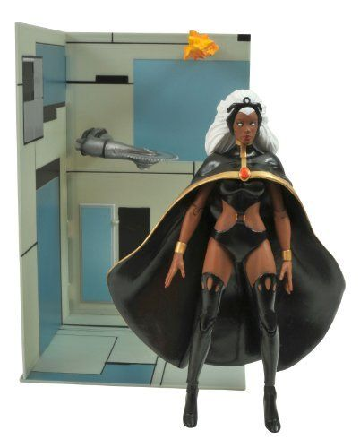 """Diamond Select Toys Marvel Select X-Men: Storm Action Figure by Diamond Select Toys. $20.88. A diamond select release. Stands 7"""" tall. Sculpted by Sam Greenwell. Multiple points of articulation. Portrays Ororo """"Storm"""" Munroe in her original costume. From the Manufacturer                A diamond select release. Sculpted by Sam Greenwell. The X-Men series of Marvel Select figures continues. Cyclops, Colossus and company are now joined by Ororo """"Storm"""" Munroe in h..."""
