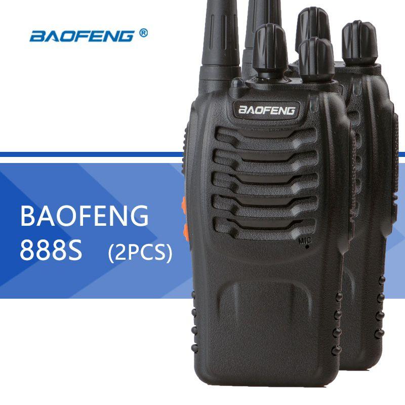 BaoFeng 2pcs baofeng 888s Kids Premium Quality Walkie Talkie
