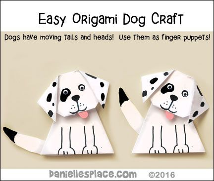 Easy Origami Dog For Kids Adorable Turn Them Into Your Favorite