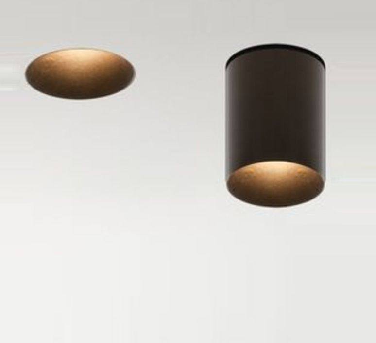 spot encastr t l scopique nyx tube t35 mokka h70mm 40mm led luciferos spots. Black Bedroom Furniture Sets. Home Design Ideas