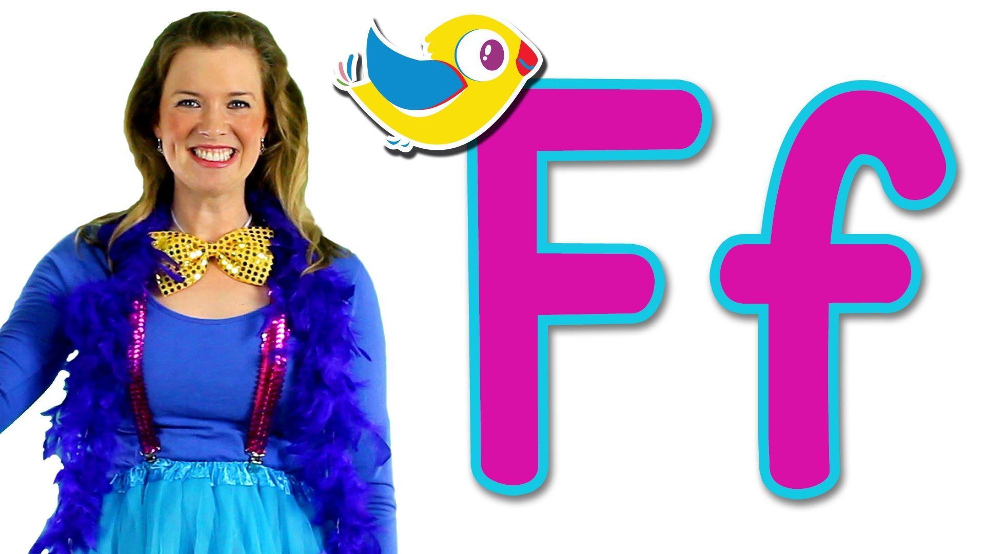 Learn The Alphabet With Bounce Patrol It S The Letter F