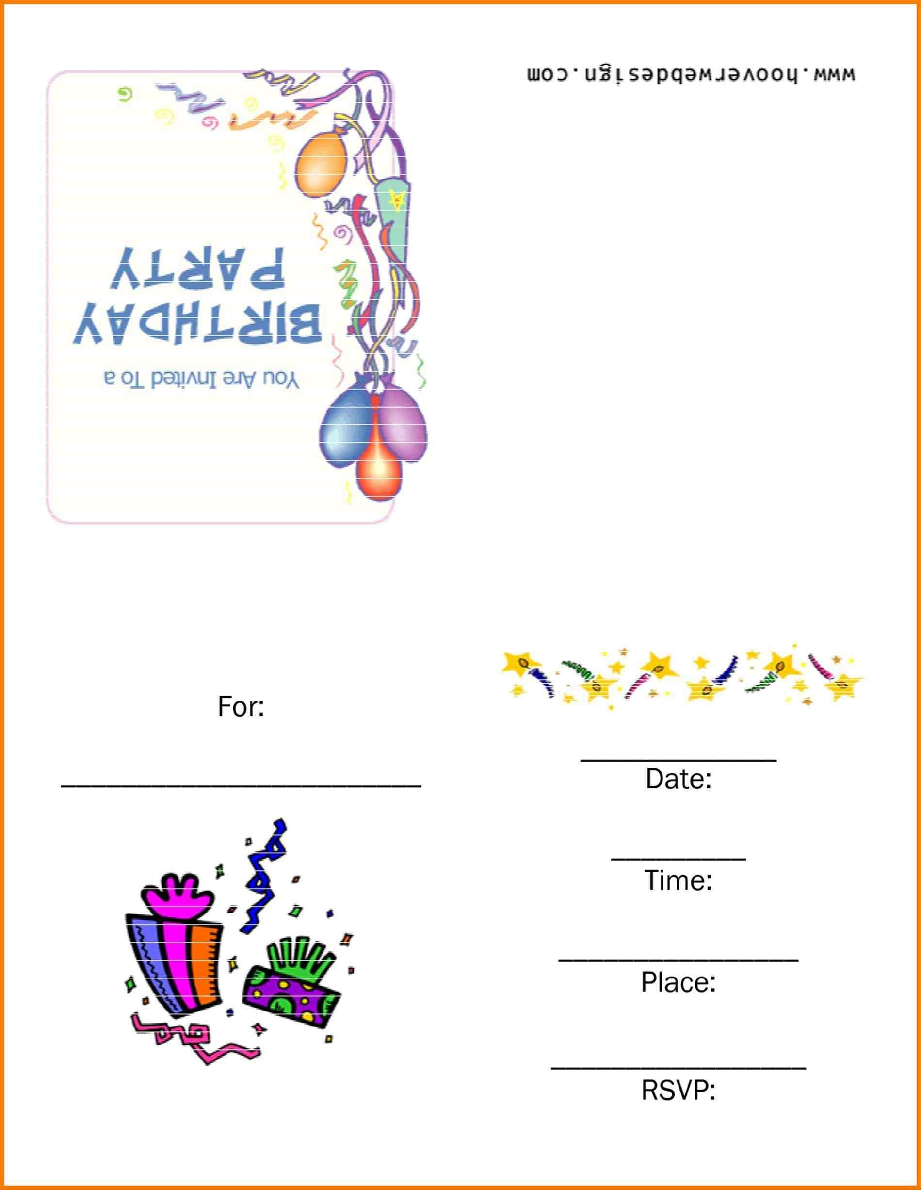 backyard birthday party invitations to get ideas how to make your