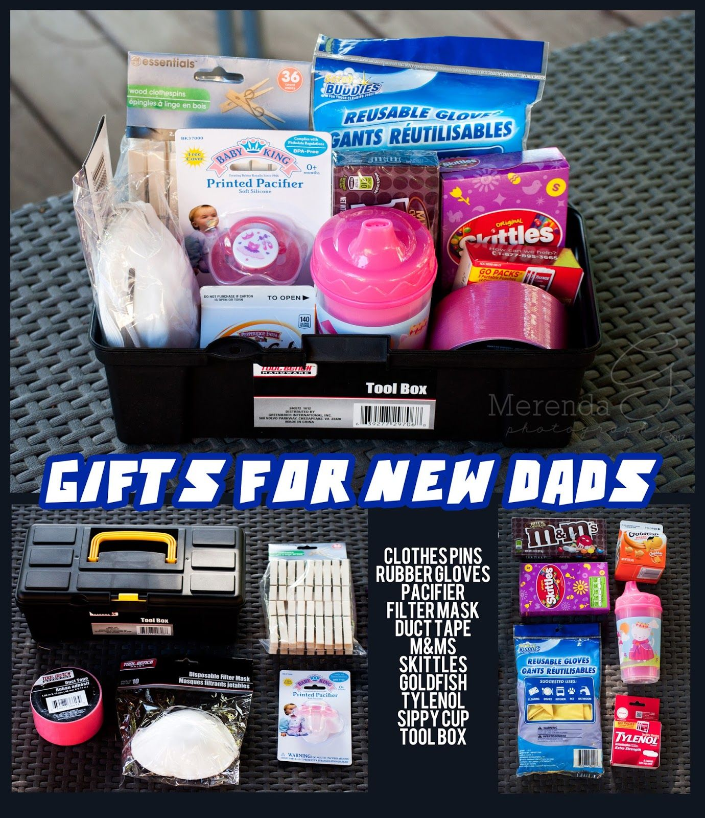 Growing with the Gordons: Gift Ideas for New Dads Daddy Survival Kit, First  Time