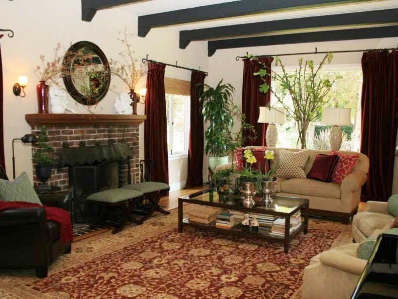 Spanish Style Homes U2013 Lively Splash Of The Glory : Spanish Style Homes  Modern Picture Dark Painted Cross Beams