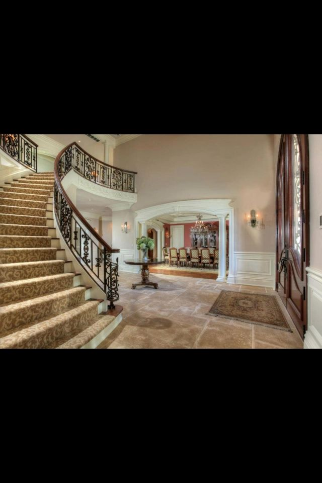 Modern Organic Home By John Kraemer Sons In Minneapolis Usa: Railing Design, Luxury Real Estate, House Entrance