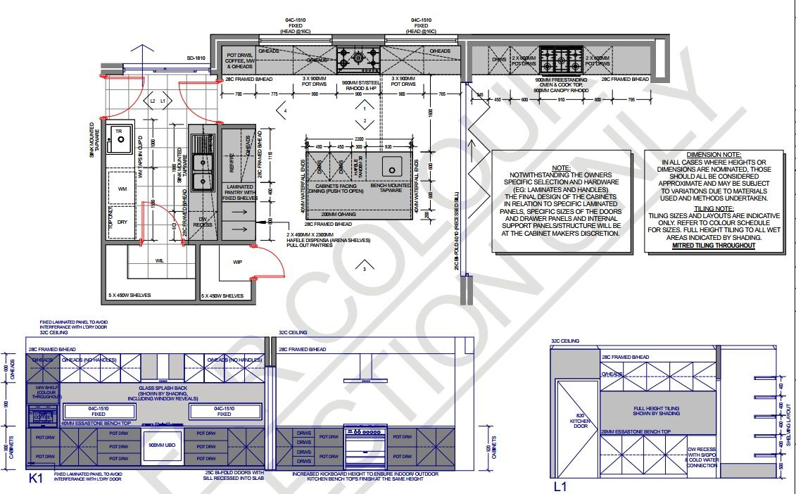 Como 3057 Kitchen And Outdoor Kitchen Layouts Plan 2 Storey House For A Custom Designed Home With Images Kitchen Layout Plans Floor Plans Kitchen Floor Plans