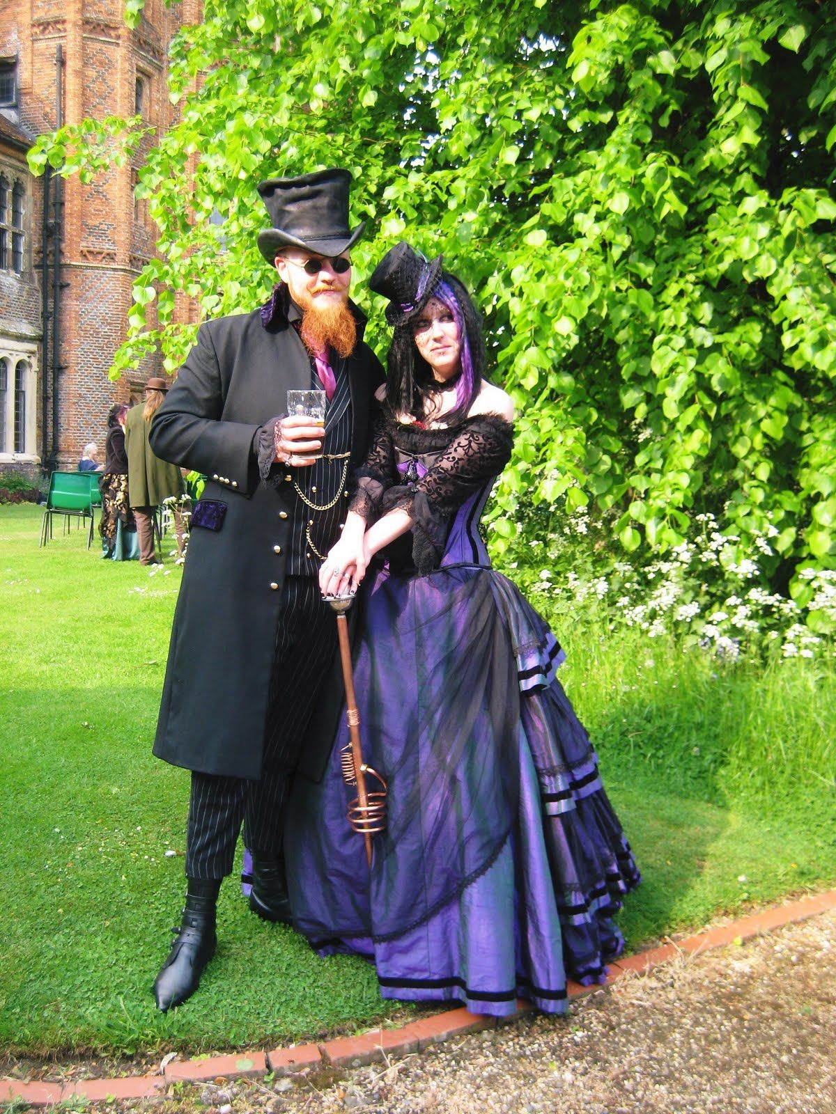 Steam punk Wedding - think about it! fancy dress - so much fun ...