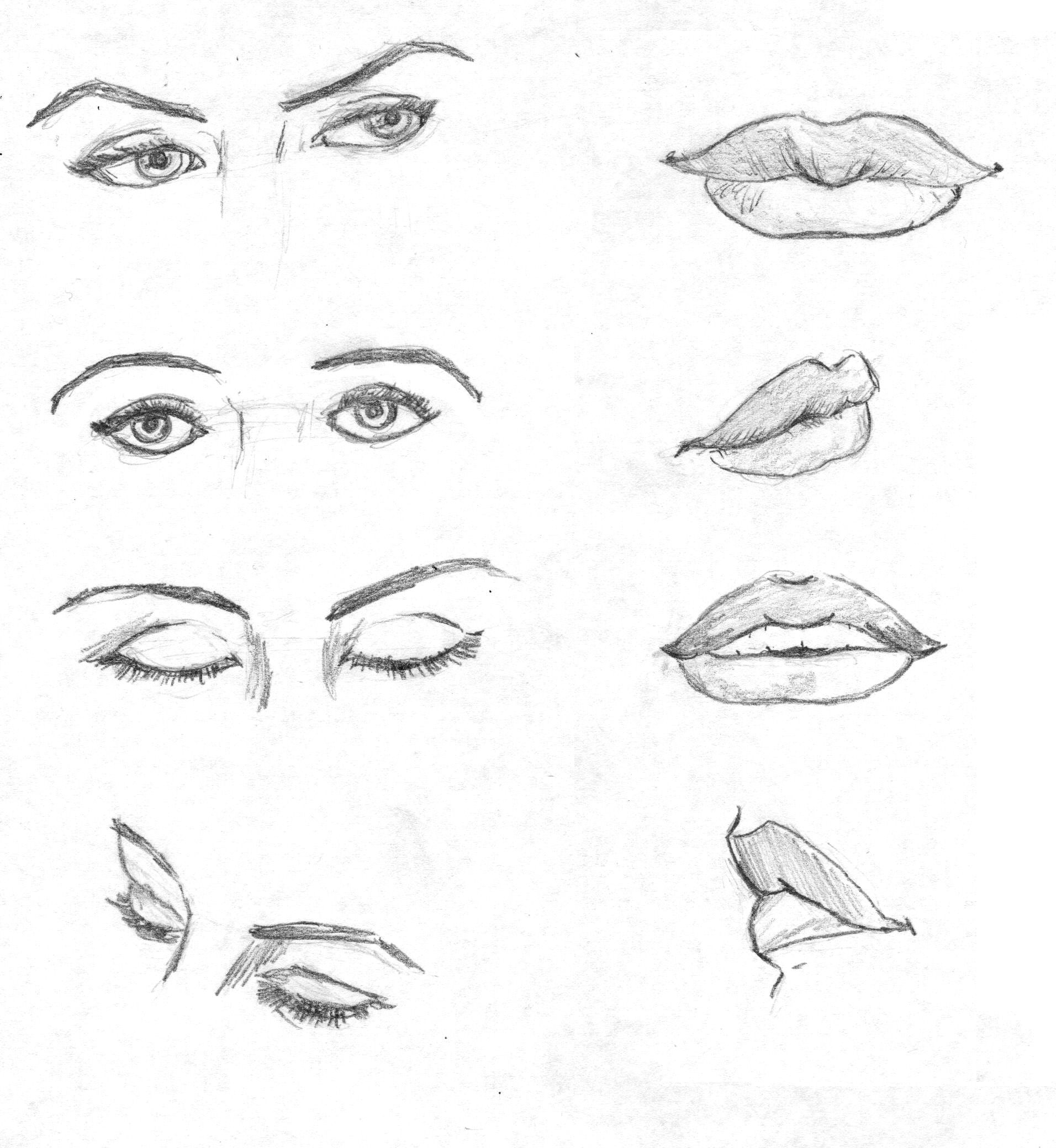 к�� н��������� г���� с����: 15 т�� и���������� н������ в Я�������������� Draw  Lipsfull Lipsdrawing Practiceart Referencehow To