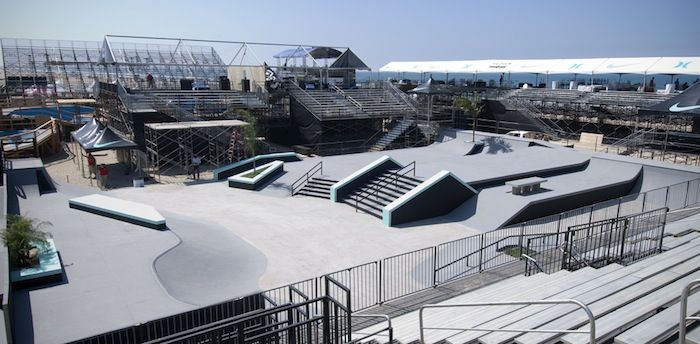 NIKE US Open of Surfing by California Skateparks