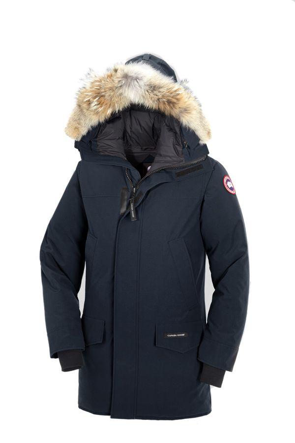 canada goose langford parka navy jas jacket herenjas heremode rh pinterest co uk