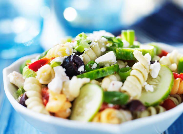Greek Salad Recipe Kayla Itsines