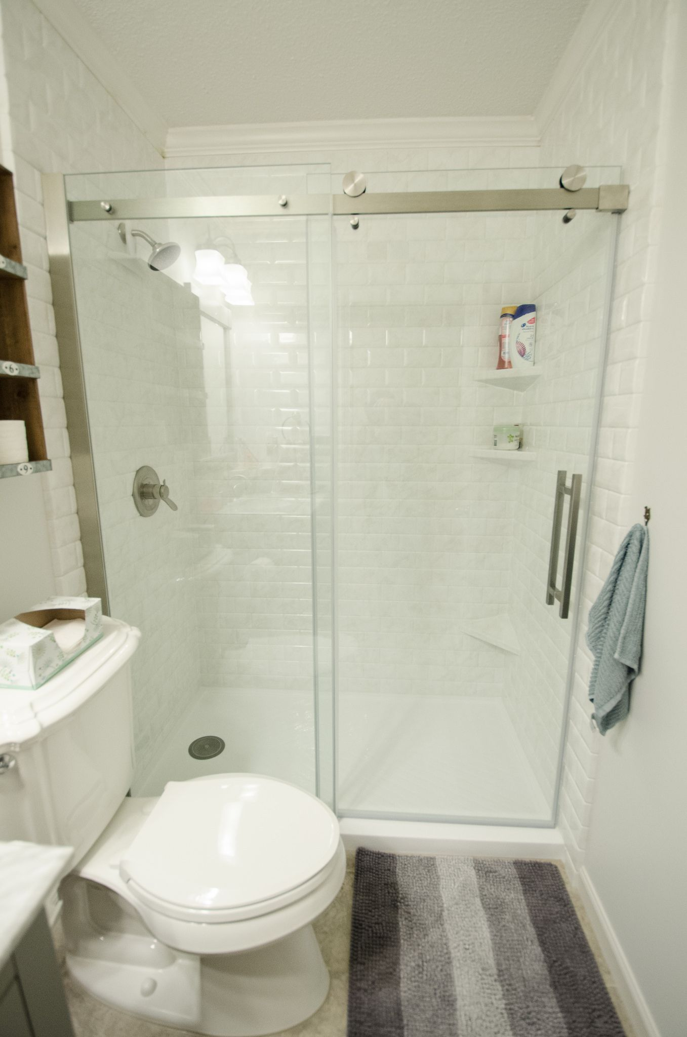 TJ1218 - AFTER-0035 | More White tile bathrooms and Bathroom ...