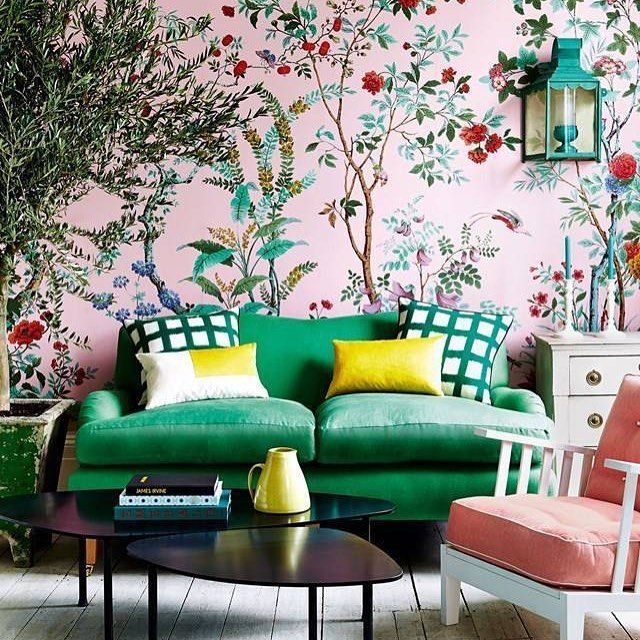 35 Indoor Garden Ideas To Green Your Home: 35 Outstanding #wallpaper Ideas To Inspire A Change In