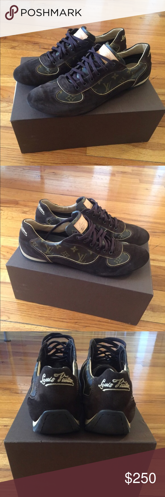 Authentic Louis Vuitton shoes Well kept, gently worn men's ...