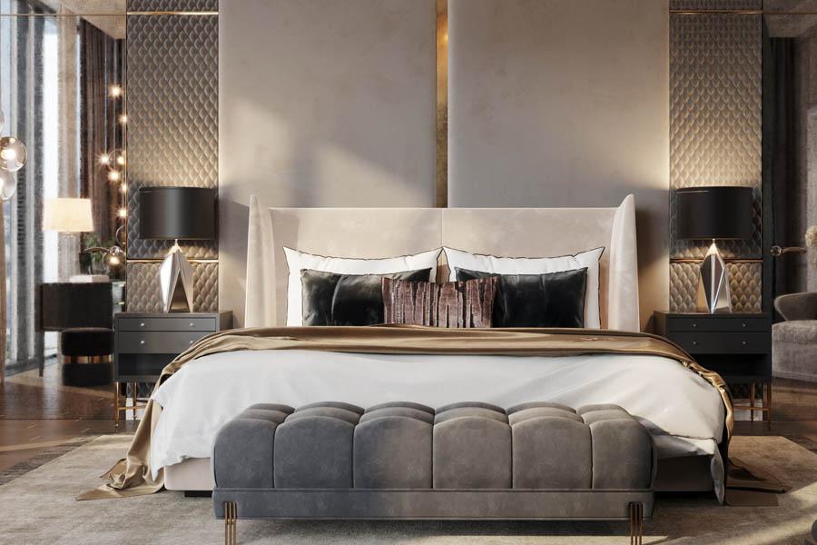 غرف نوم تركي بتصاميم ديكور مودرن تخطف القلوب ديكورات أرابيا Classic Bedroom Modern Bedroom Luxurious Bedroom