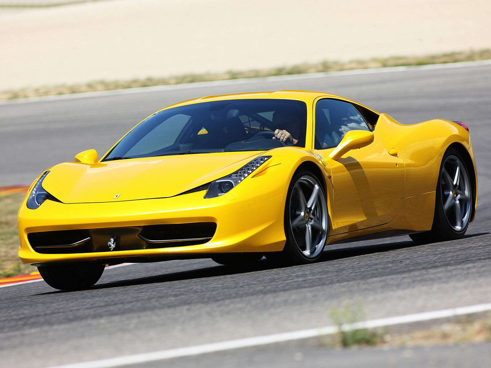 Yellow Car 458 Italia Ferrari 458 Italia Photo Car