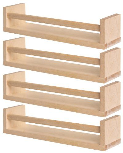 Ikea 400.701.85 Bekvam Spice Rack, Birch, Set of 4