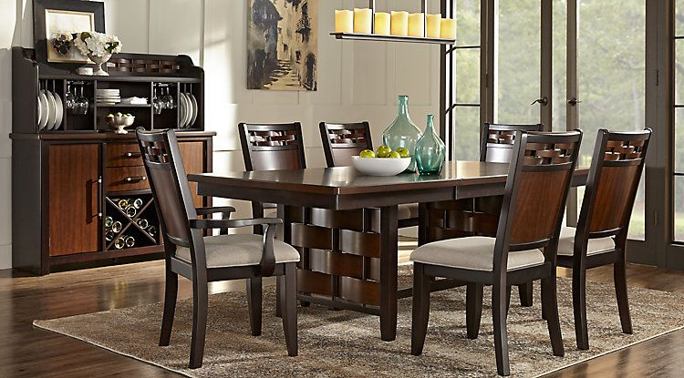 bedford heights cherry 5 pc dining room | dinning room | pinterest