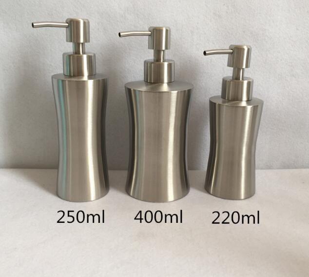 304 Stainless Steel Liquid Soap Dispenser Brass Kitchen Soap Soap Dispenser