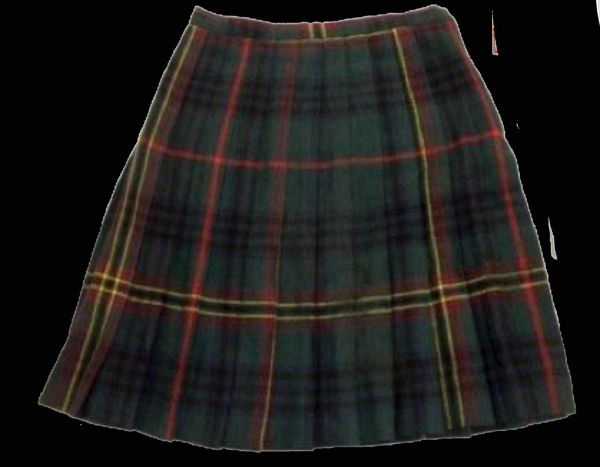 da714c0871 Blue Plaid Skirt, Plaid Wool Skirt, Wool Mini Skirt, Tartan Pleated Skirt,