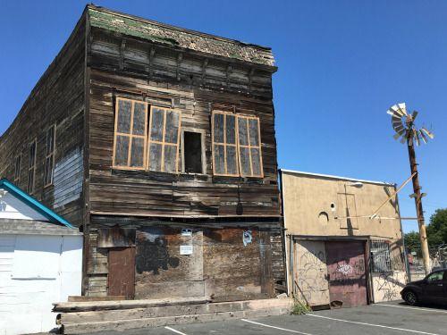 Old Fruitvale Hotel In Oakland California