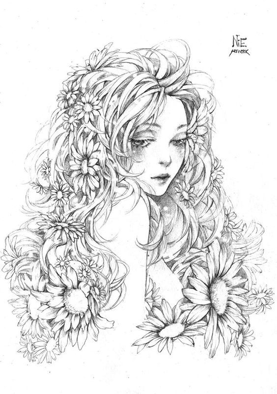 Daisy by litaone on DeviantArt   coloriage   Pinterest ...