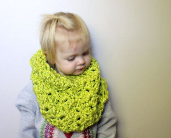 PATTERN ONLY  Childrens Cowl Neckwarmer  Christy by hovercreations, $5.00