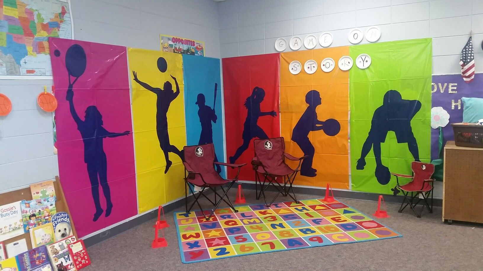 Game On Vbs Decoration Ideas Sports Day Decoration Sports