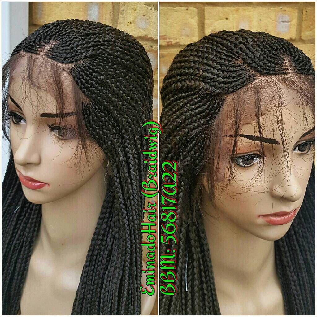 Braided Wig Wholelace Unit Cornrow Unit Colour 4