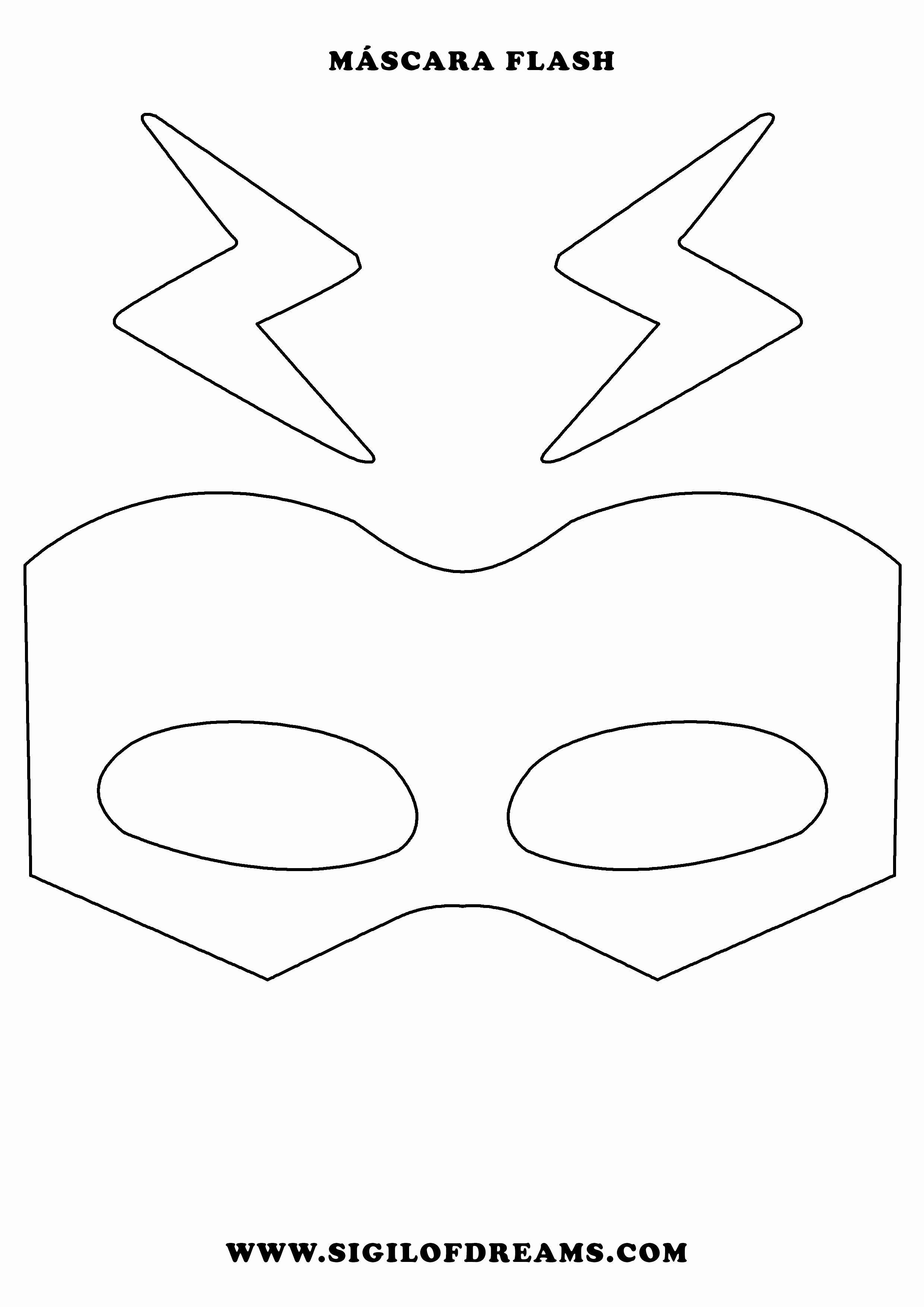 Image Result For Flash Mask Template Kids The Flash Mask Hero