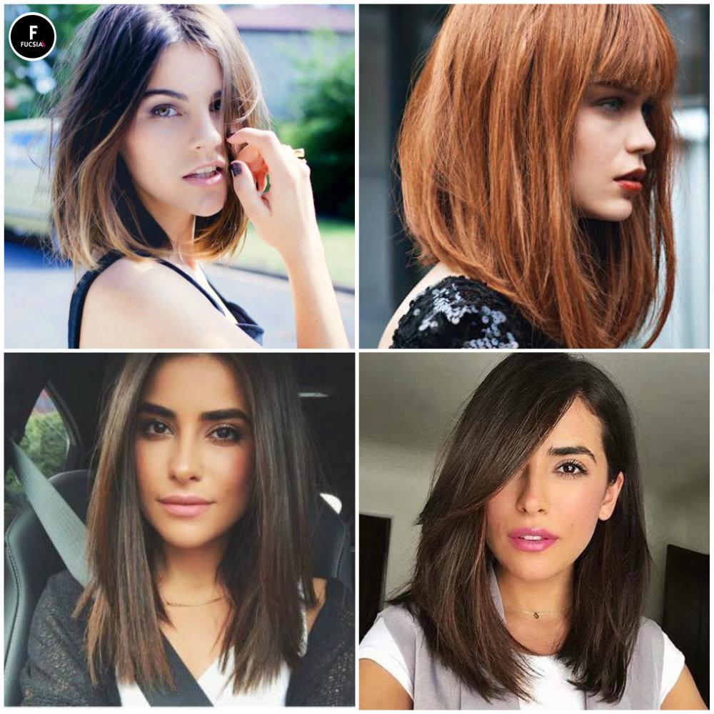 tendencia2017 el bob uno de nuestros cortes favoritos se acenta en peinados liso - Peinados Lisos