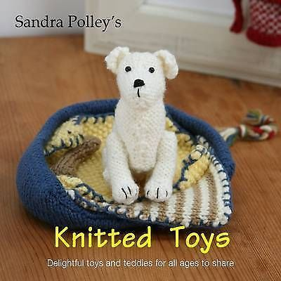 Sandra Polley knitted toys. dolls meerkat teddy bear pixie ...