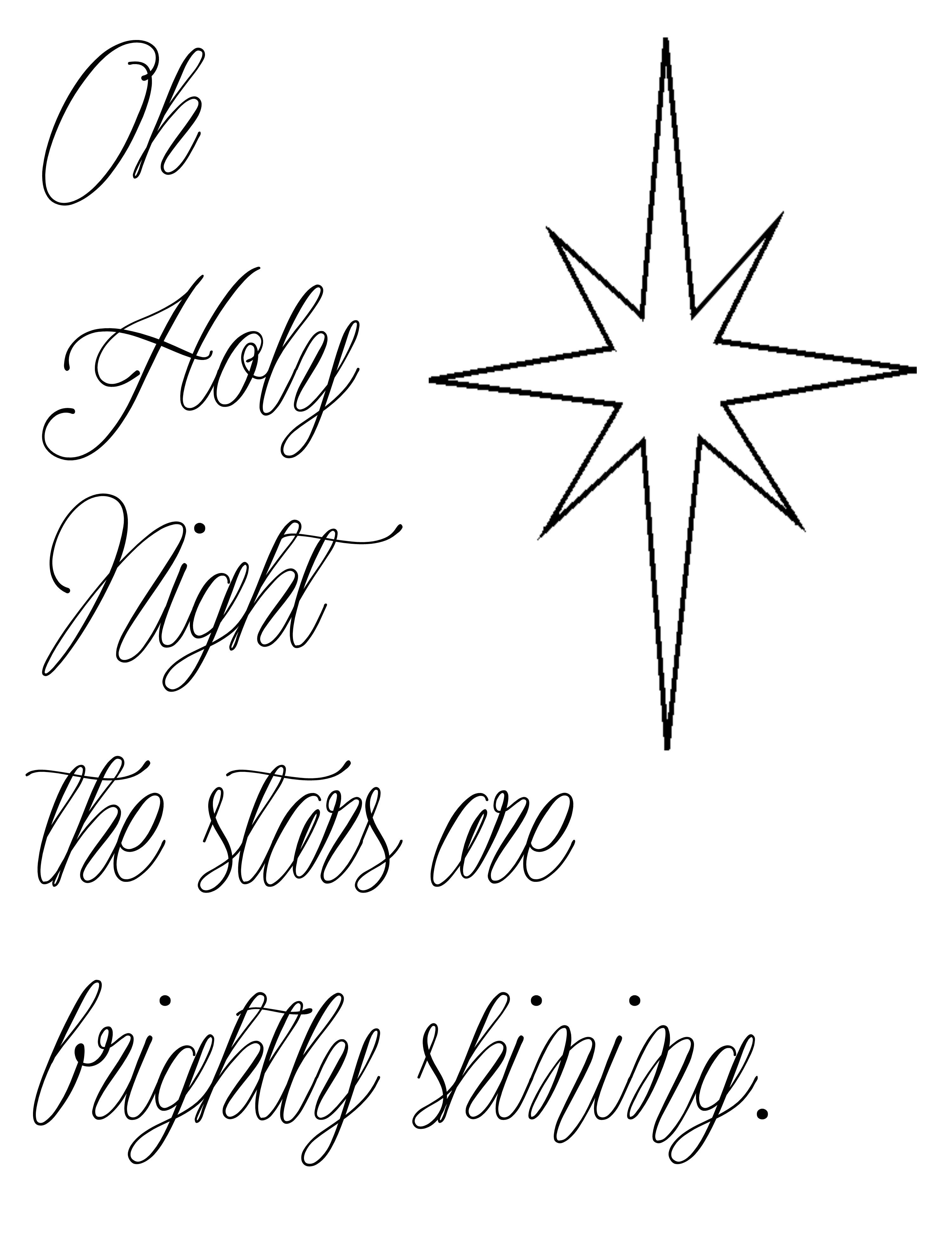 Free Christmas printable template- use it to make your own
