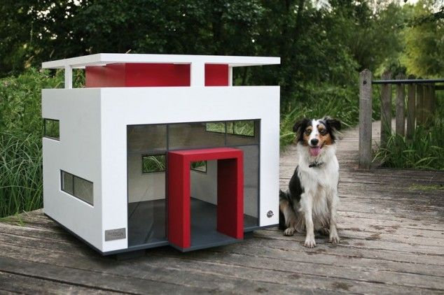 Modern dog houses   - The Ultimate Luxurious Dog Houses