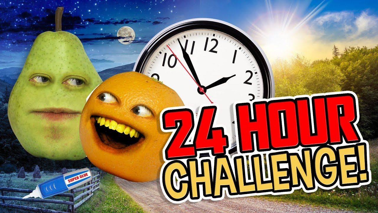 Annoying orange 24 hour challenge in 2020 with images