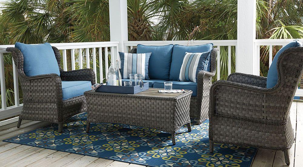 Juegos De Muebles Para Patio Mueblerias Ashley Furniture Homestore Y Accesorios Para Su Hogar Outdoor Furniture Sets Outdoor Seating Set Best Outdoor Furniture