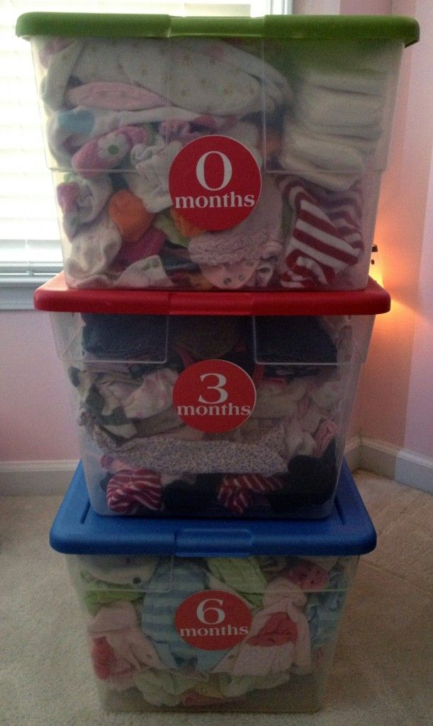 best 25 storing baby clothes ideas on pinterest baby storage organize baby clothes and. Black Bedroom Furniture Sets. Home Design Ideas