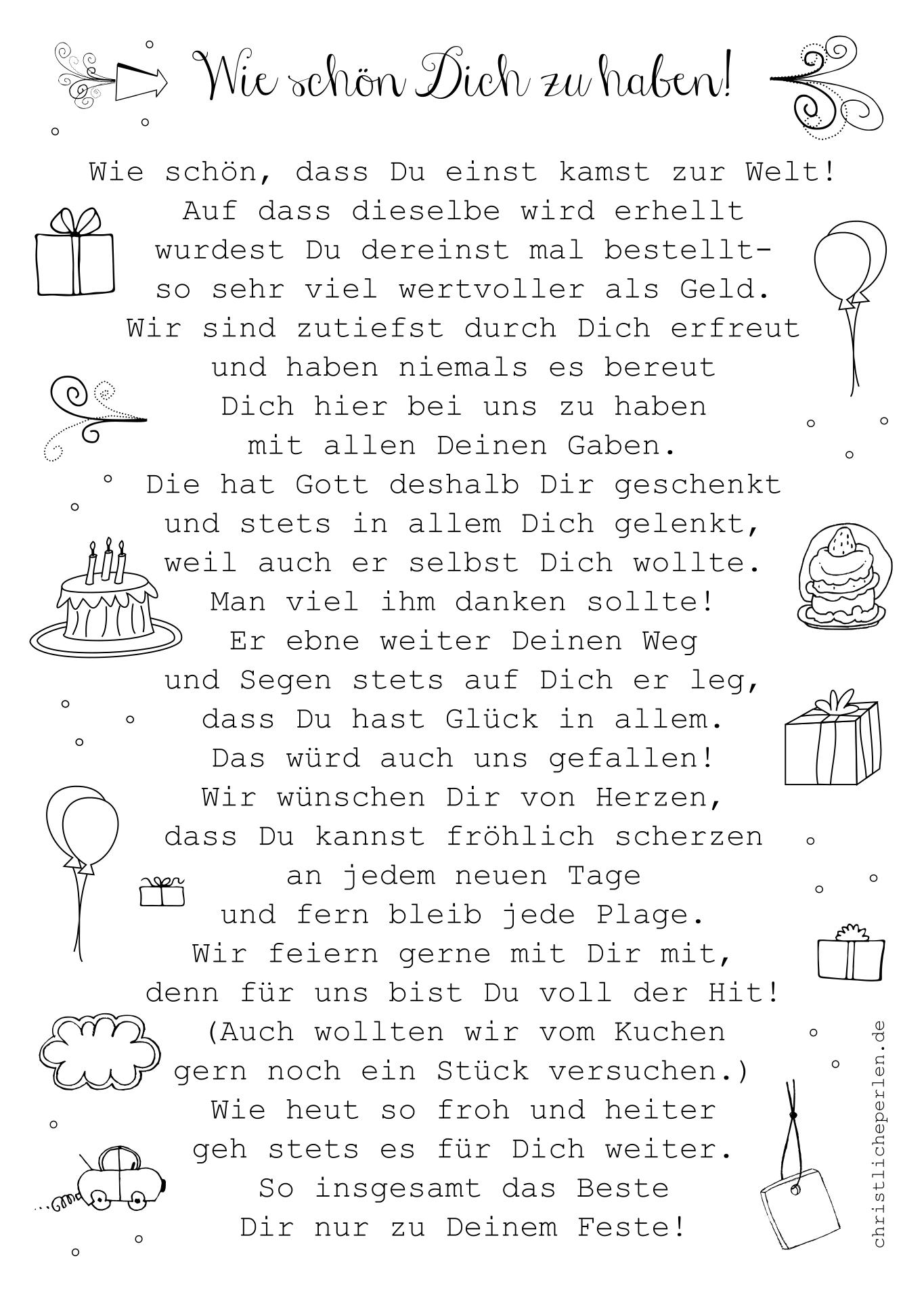 Lustig gedichte 50 geburtstag Zum 50