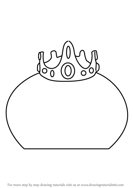 Learn How To Draw King Slime From Terraria Terraria Step In 2020 Coloring Pages Coloring Pages For Kids Unicorn Coloring Pages