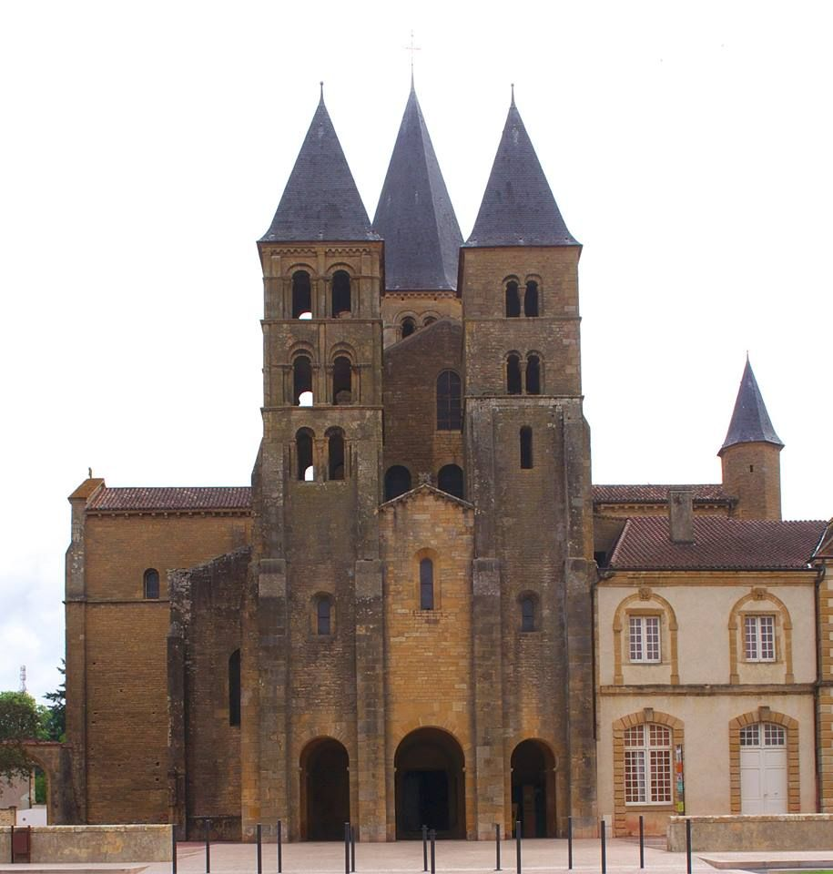 Architecte Paray Le Monial basilica of paray-le-monial | paray-le-monial, architecture