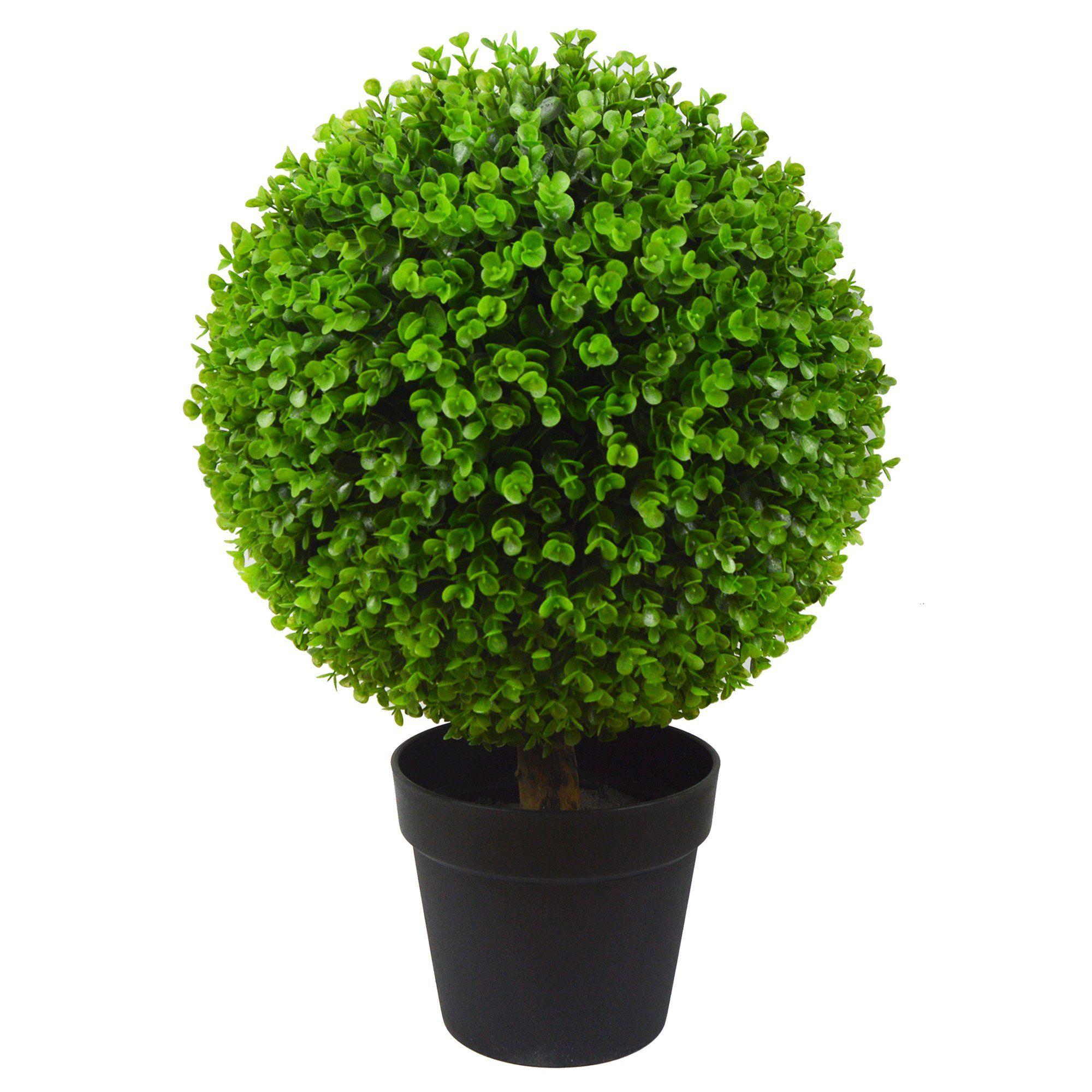 Antigreen boxwood artificial topiary trees