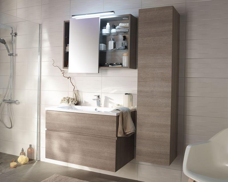 Meubles cookelewis calao castorama salle de bain en 2019 pinterest salle de bain salle - Castorama salle de bain carrelage ...