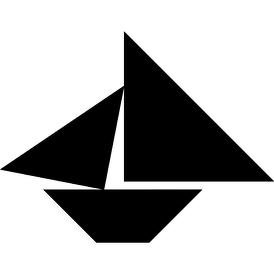 tangram puzzle 17 shad boat visit httpwwwtangram