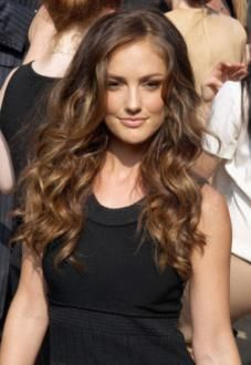 Tremendous Minka Kelly Wavy Hair And Long Wavy Hairstyles On Pinterest Short Hairstyles Gunalazisus