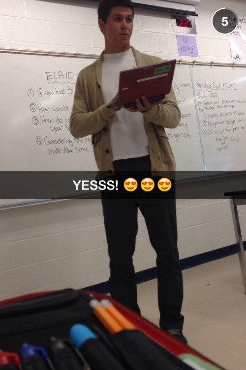 Hot Teacher Guy