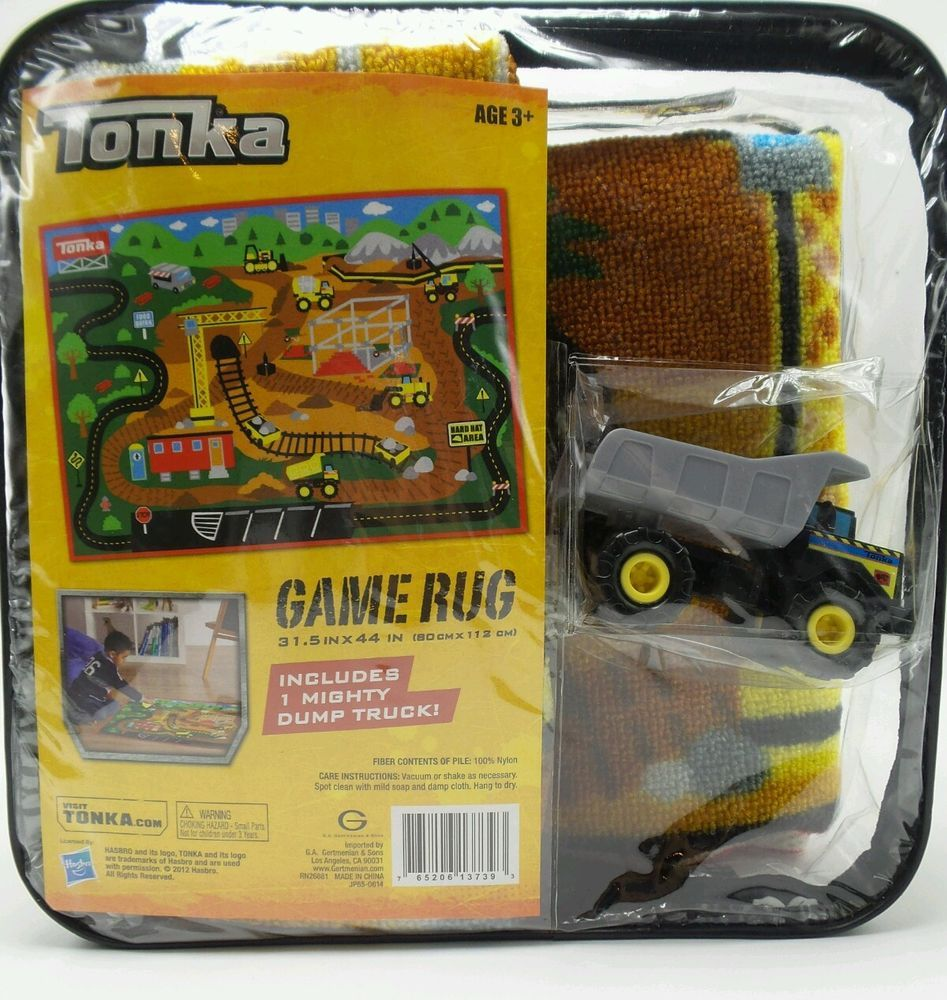 Tonka Rug With Toy Dump Truck 31 5 44 Inch New In Package
