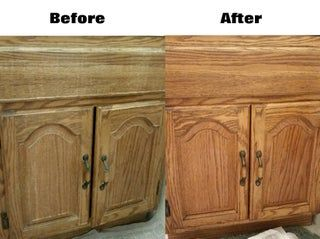 Easily Renew Wood Cabinets Without Actually Refinishing in ...